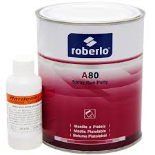 ROBERLO A80 POLYESTER SPRAY FILLER 1LT - Colourfast Auto