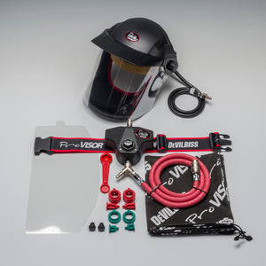 DEVILBISS PROV-650 AIR HOOD & BELT - Colourfast Auto