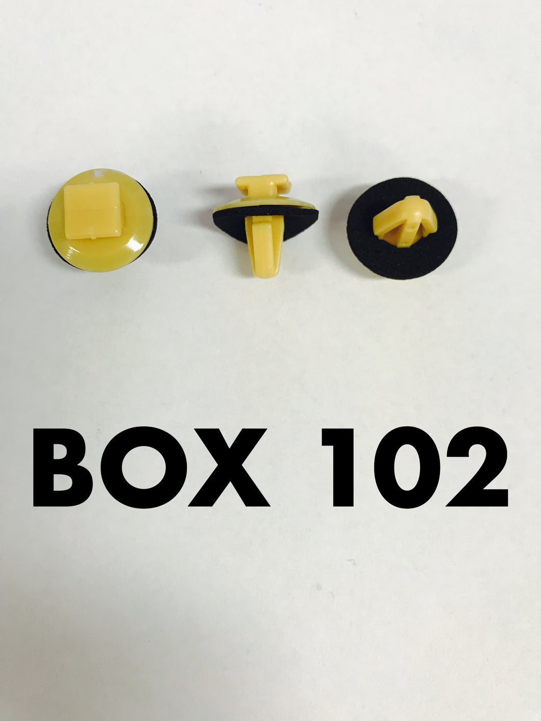 Carclips Box 102 10356 Door Mould Clip - Colourfast Auto