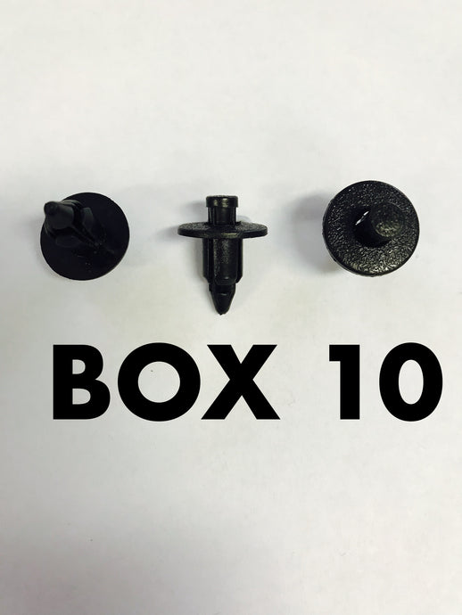 Carclips Box 10 10564 Pin Clip - Colourfast Auto