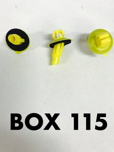 Carclips Box 115 10807 Flare Clip - Colourfast Auto