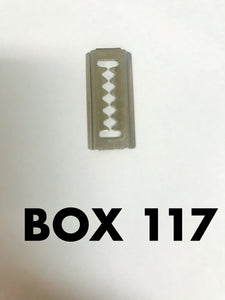 Carclips Box 117 10322 Bumber Strip Clip