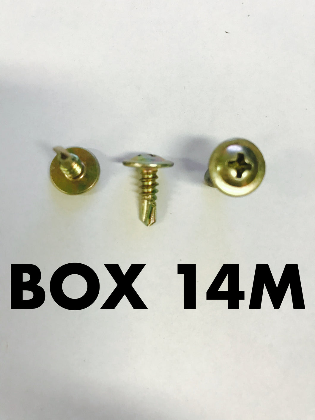 Carclips Box 14M 8g x 12mm Self Tapping Screw - Colourfast Auto