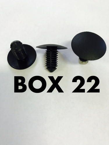Carclips Box 22 10243 Retainer Clip
