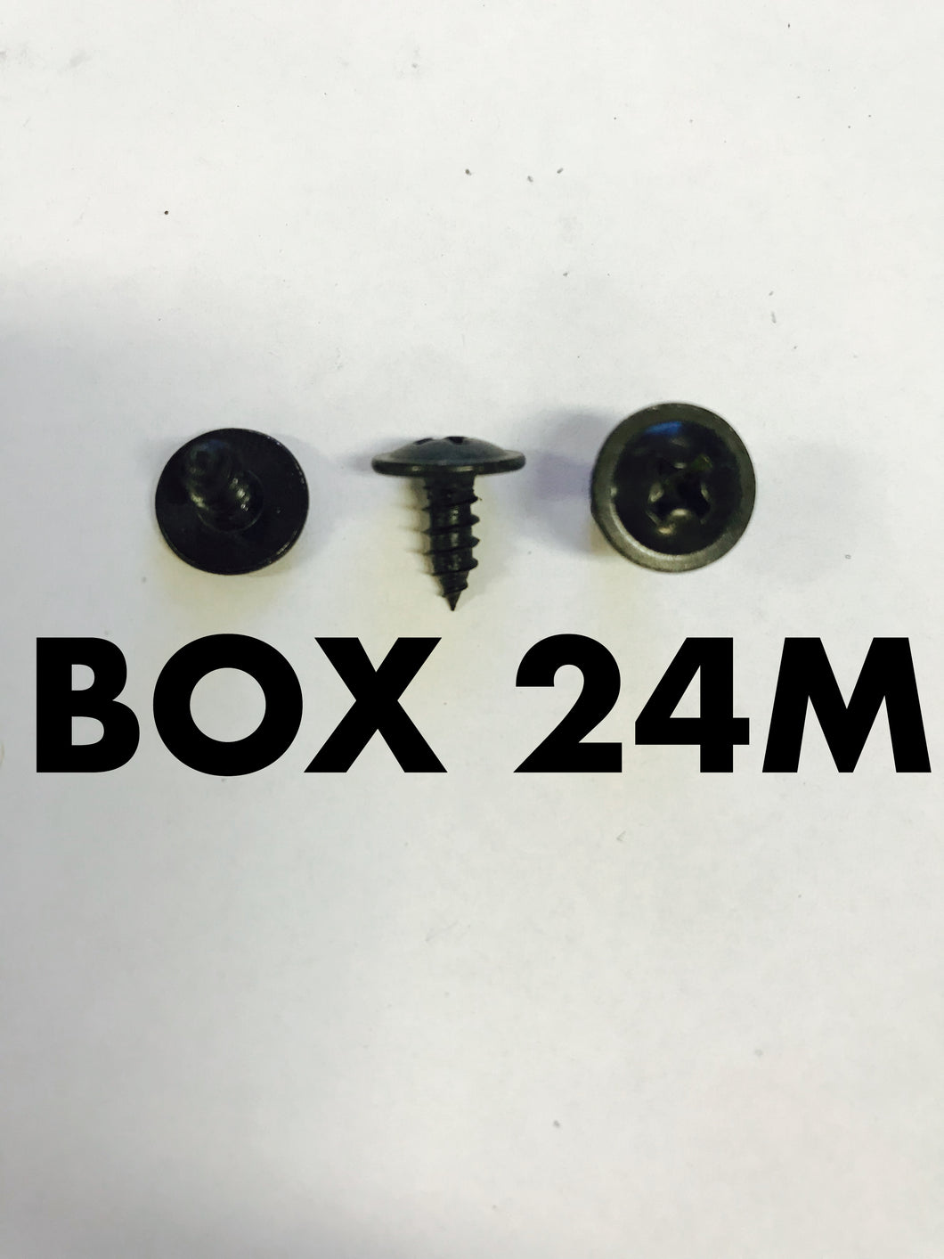 Carclips Box 24M 8g x 10mm Screws - Colourfast Auto