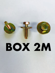 Carclips Box 2M M6 Bolt - Colourfast Auto