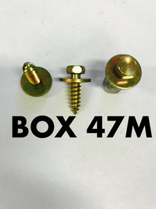 Carclips Box 47M M5 x 3/4 Screw - Colourfast Auto