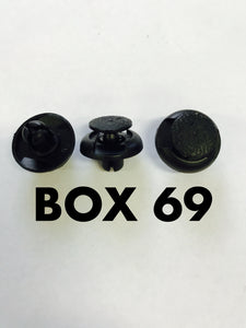 Carclips Box 69 11104 - Colourfast Auto