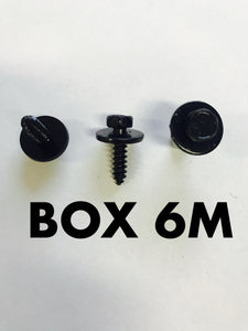 Carclips Box 6M M5 Screws - Colourfast Auto