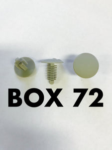 Carclips Box 72 11104 Liner Clip - Colourfast Auto