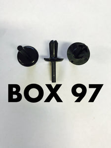 Carclips Box 97 10019 Small Pin Clip
