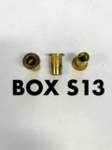 Carclips Box S13 M5 Nut Insert - Colourfast Auto