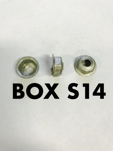 Carclips Box S14 M6 Speed Nut