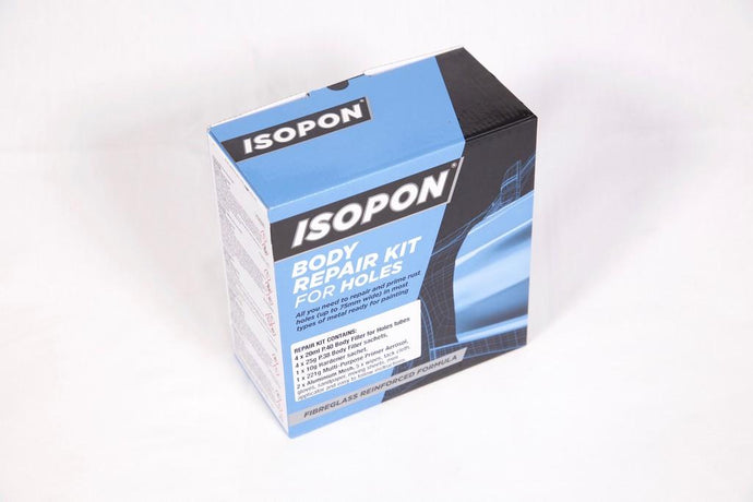 ISOPON BODY REPAIR KIT FOR HOLES - Colourfast Auto