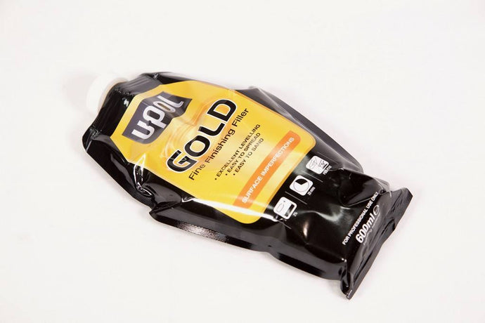 U-POL GOLD FINE FINISHING FILLER 600ML BAG - Colourfast Auto
