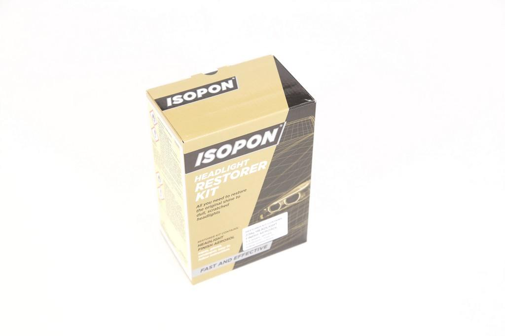 ISOPON HEADLIGHT RESTORER KIT - Colourfast Auto