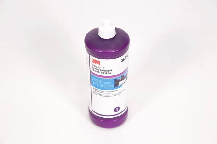 3M 36060 # 1 RUBBING COMPOUND 1LT - Colourfast Auto