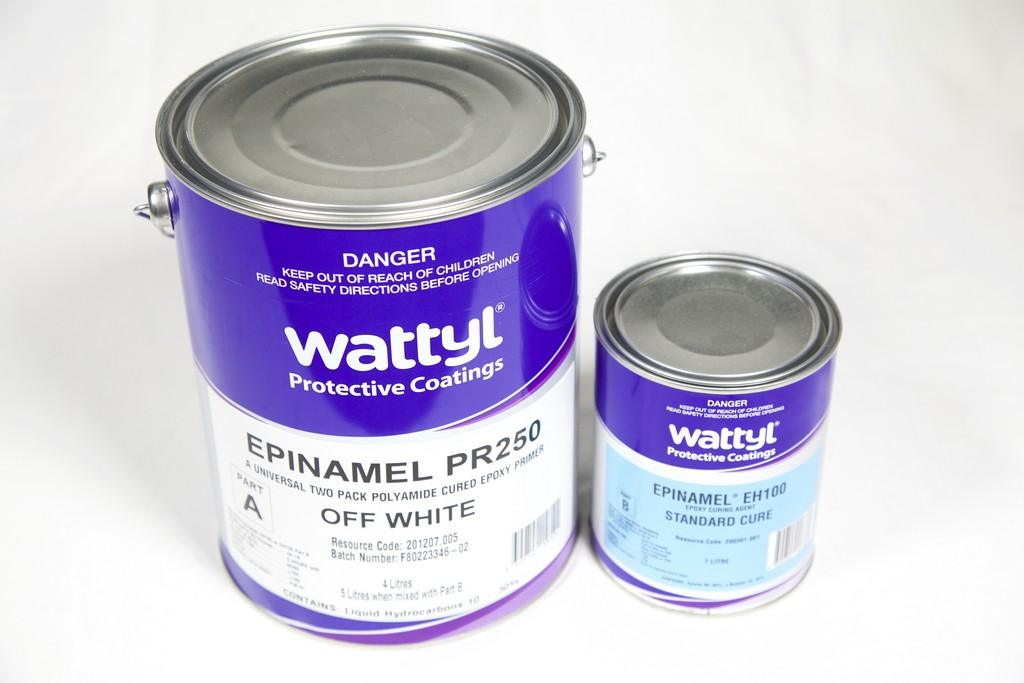 WATTYL EPINAMEL PR250 EPOXY PRIMER OFF WHITE - Colourfast Auto