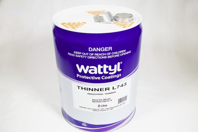 WATTYL THINNER L743 RETARDER 20LT - Colourfast Auto