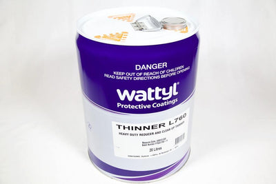 WATTYL L760 EPOXY THINNER 20L - Colourfast Auto