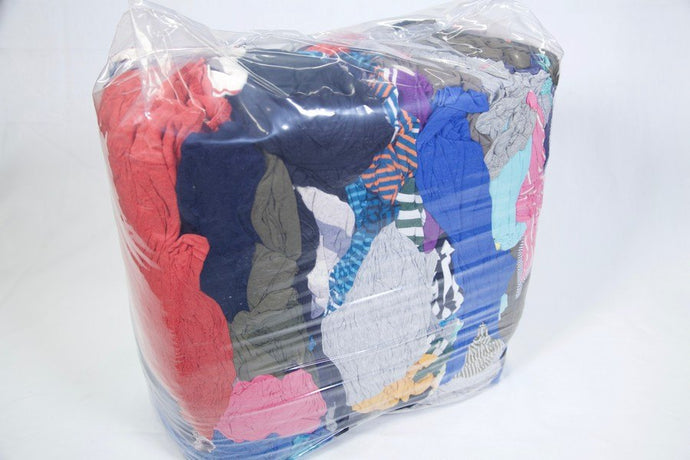 T-SHIRT RAGS 10KG - Colourfast Auto