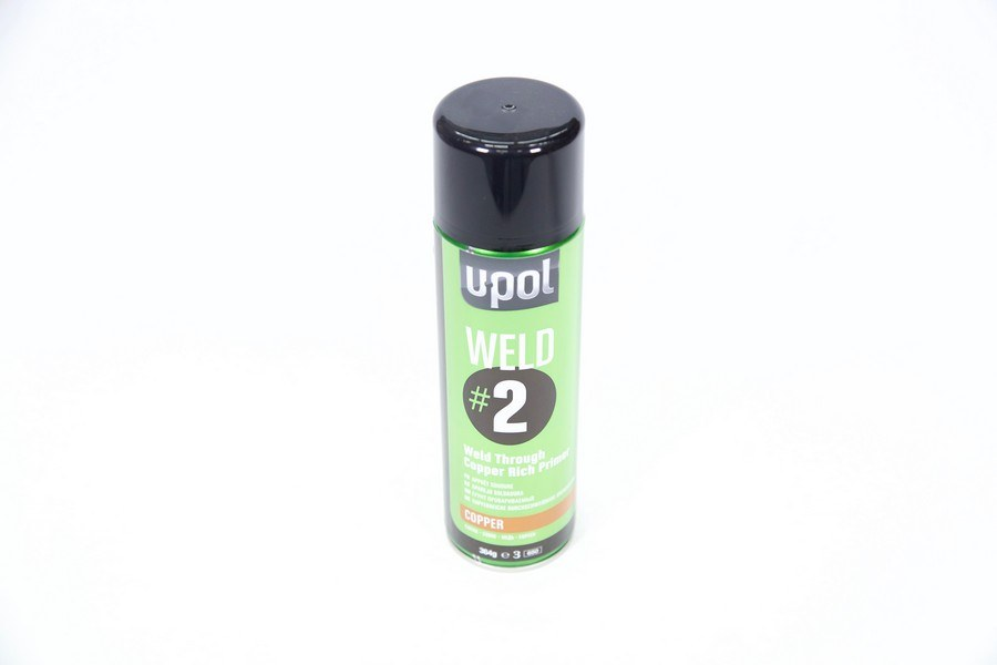 U-POL AEROSOL COPPER WELD THRU #2 - Colourfast Auto