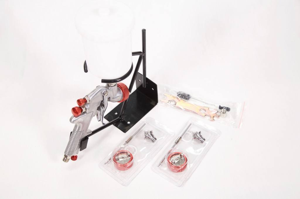 WORKQUIP GRAVITY GUN KIT 3 SET UPS - Colourfast Auto