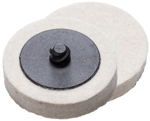 GEIGER FELT POLISHING PAD 50MM - Colourfast Auto