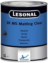 LESONAL 2K MATT CLEAR 1LT - Colourfast Auto