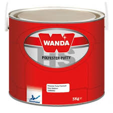 WANDA POLYESTER PUTTY 3KG - Colourfast Auto