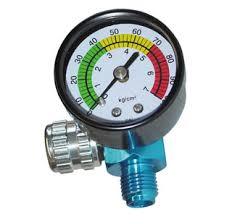 AIR REGULATOR & GUAGE FOR GUN - Colourfast Auto