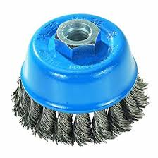 TWIST KNOT CUP BRUSH 75MM