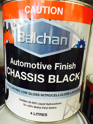 BALCHAN CHASSIS BLACK - Colourfast Auto