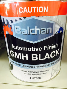 BALCHAN GMH FLAT BLACK - Colourfast Auto