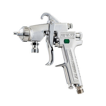 IWATA NEW W77 PRESSURE FEED GUN HEAD 1.2MM - Colourfast Auto