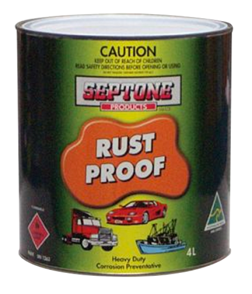 SEPTONE RUSTPROOFING - Colourfast Auto