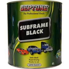 SEPTONE SUBFRAME BLACK - Colourfast Auto