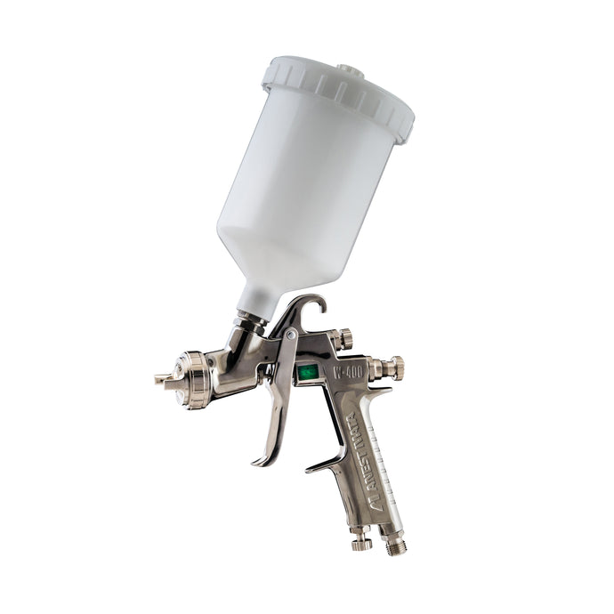 IWATA W400 GRAVITY GUN & POT - Colourfast Auto