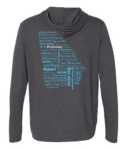 New American Pathways Hooded Full Zip T-Shirt