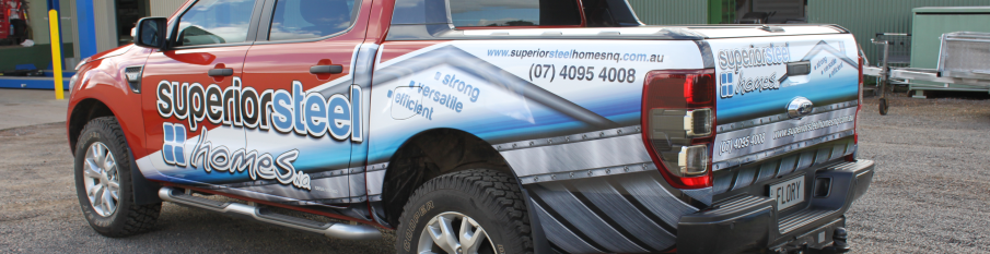 Allen's makes and installs custom wraps for commercial vehicles! Our car wraps are manufactured here in our Australian store to suit all types of vehicles.