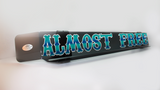 'Almost Free' Bug Deflector Name Sticker