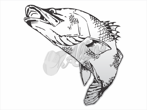 Realistic Barra Sticker (Pair)