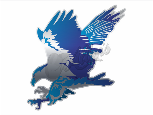 Soaring Eagle Sticker (Pair)