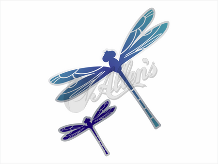 Barrel Racer Bug Deflector Sticker (Pair)