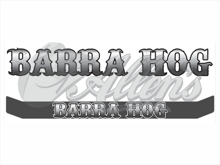 Barra Jumping Sticker (Pair)