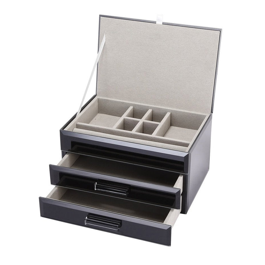 Shop Jewellery Box | Black Medium at Rose St Trading Co