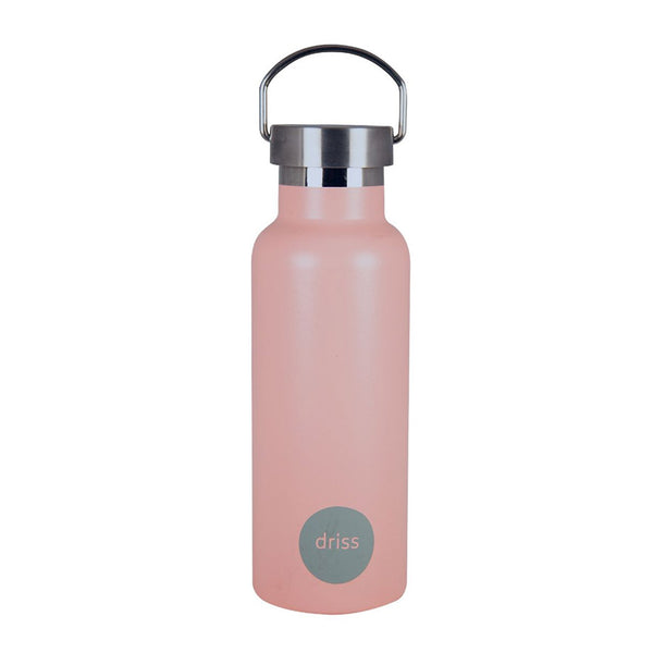 Shop 500ml Insulated Drink Bottle | Peach/Grey at Rose St Trading Co