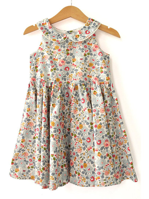 Shop Liberty Girls Dress - Blue Betsy at Rose St Trading Co
