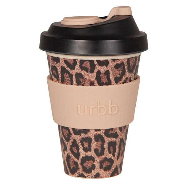Shop Re-usable Coffee Cup | Brown Leopard at Rose St Trading Co