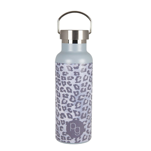 Shop 500ml Insulated Drink Bottle | Snow Leopard at Rose St Trading Co